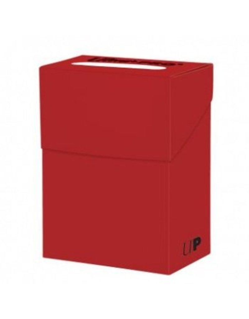 Ultra Pro Deck Box Solid Red Ultra Pro