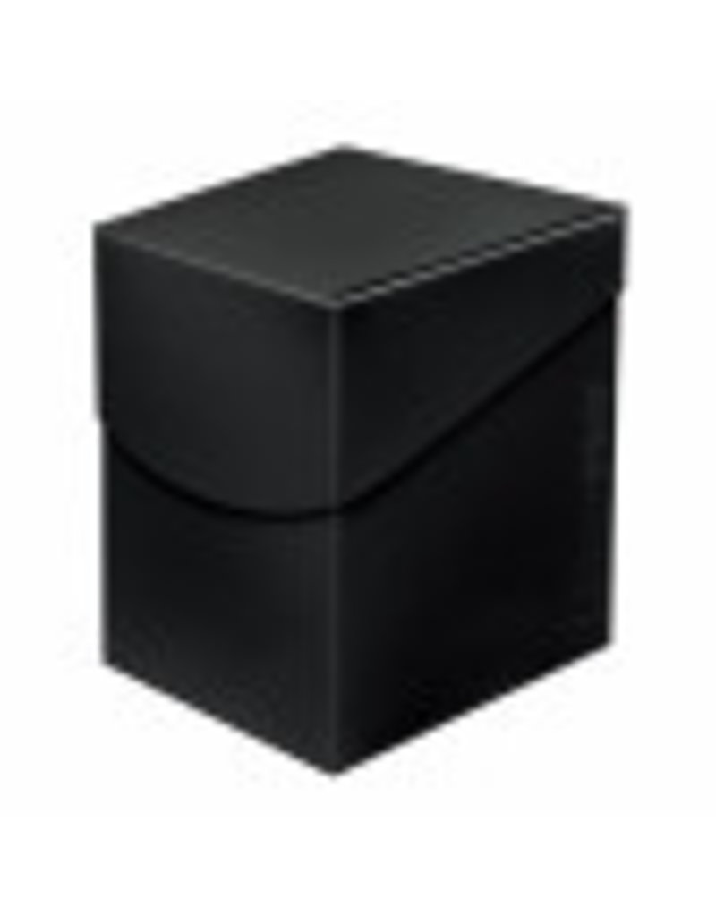 Ultra Pro Eclipse Deckbox 100+  Jet Black Ultra Pro