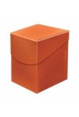 Ultra Pro Eclipse Deckbox 100+  Pumpkin Orange Ultra Pro