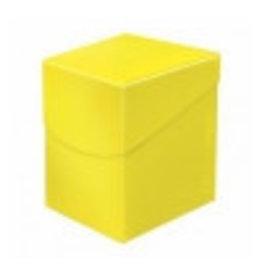 Ultra Pro Eclipse Deckbox 100+  Lemon Yellow Ultra Pro