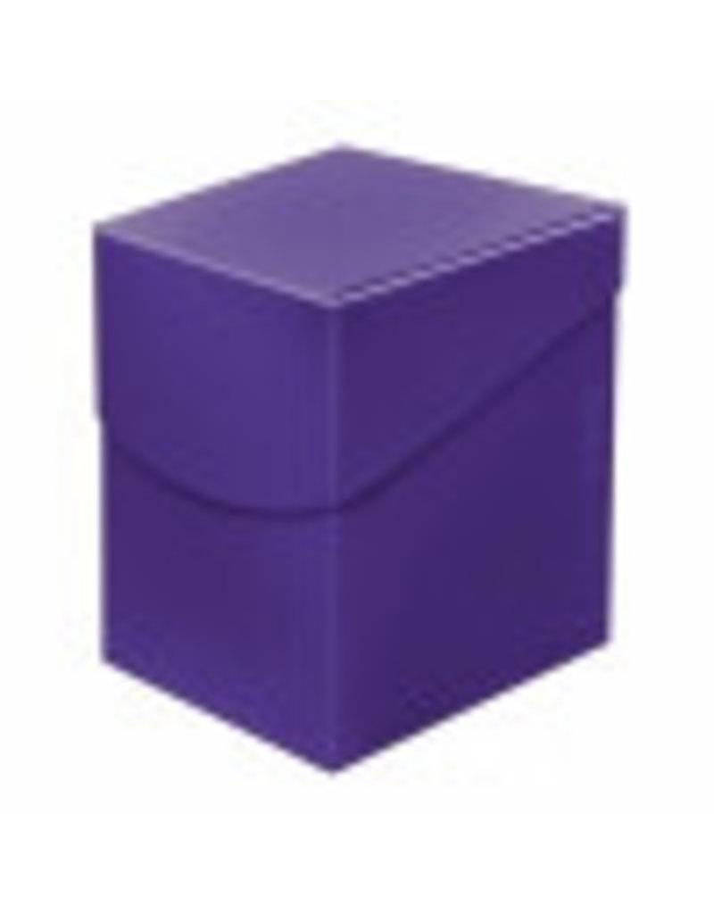 Ultra Pro Eclipse Deckbox 100+  Royal Purple Ultra Pro