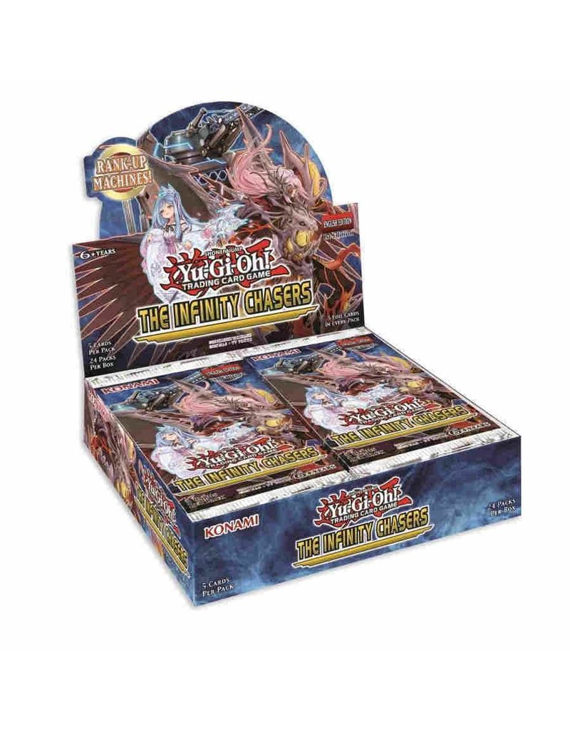 Yu-Gi-Oh! The Infinity Chasers Booster Box Yu-Gi-Oh!