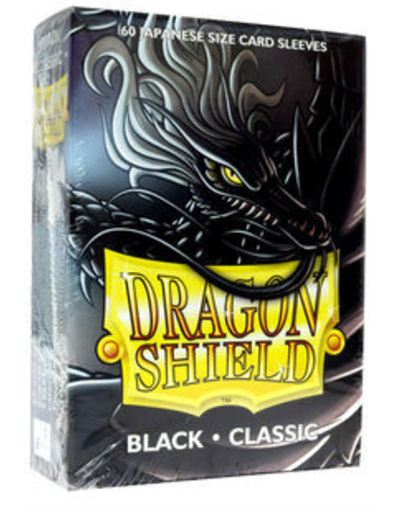 Dragon Shield Dragon Shield Small Classic Sleeves Black