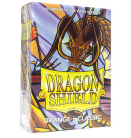 Dragon Shield Dragon Shield Small Classic Sleeves Orange