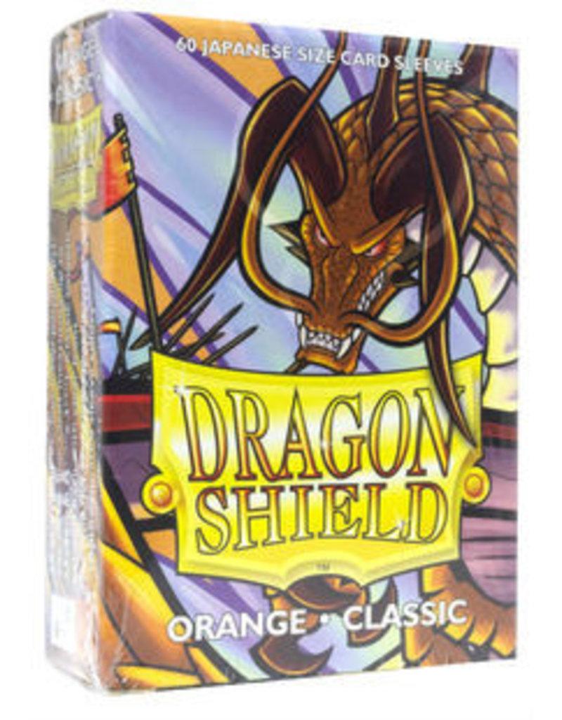 Dragon Shield Dragon Shield Small Classic Sleeves Orange