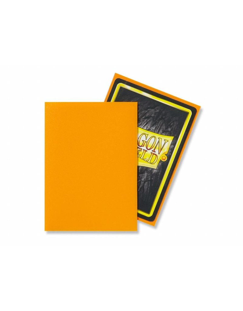 Dragon Shield Dragon Shield Standard Matte Sleeves Orange