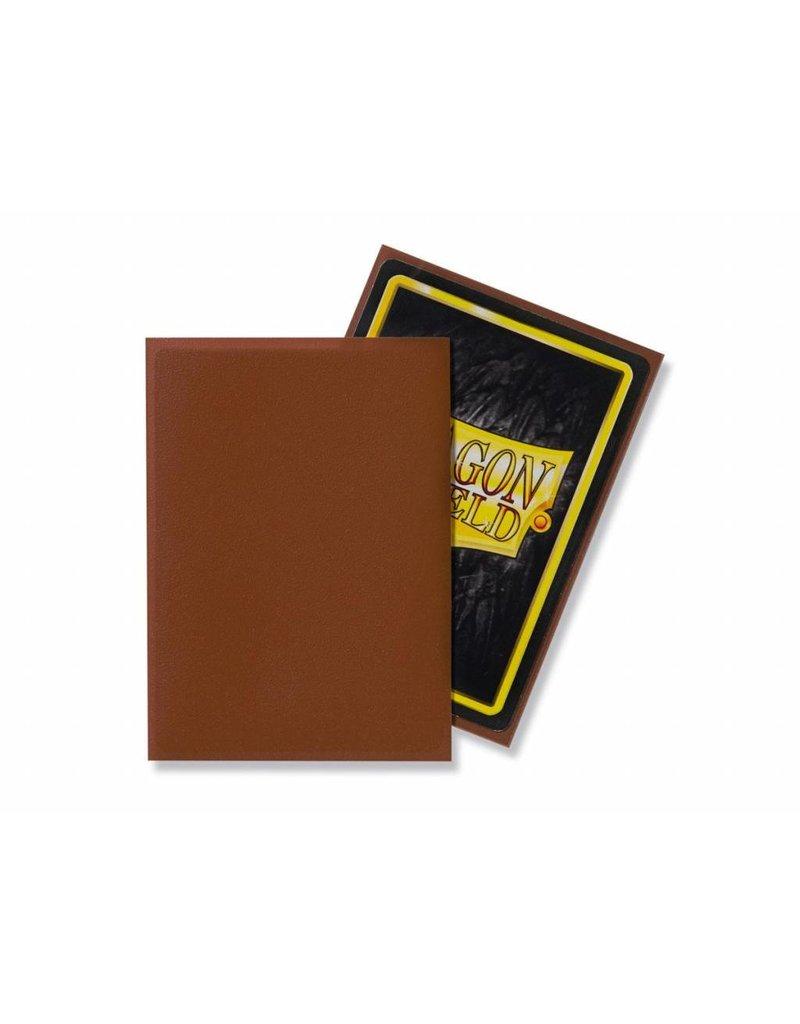 Dragon Shield Dragon Shield Standard Matte Sleeves Umber