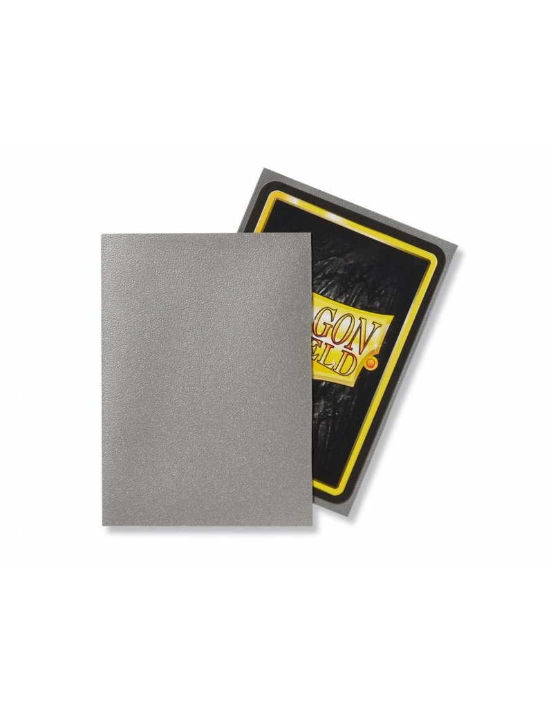 Dragon Shield Dragon Shield Standard Matte Sleeves Silver