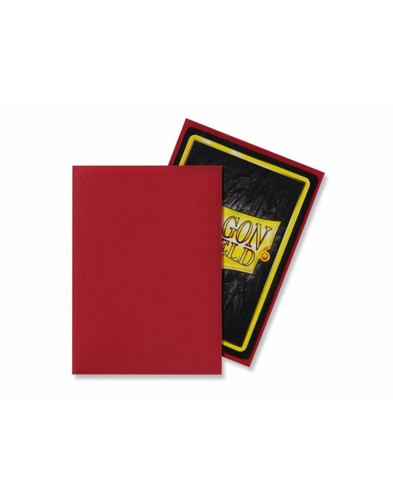 Dragon Shield Dragon Shield Standard Matte Sleeves Red