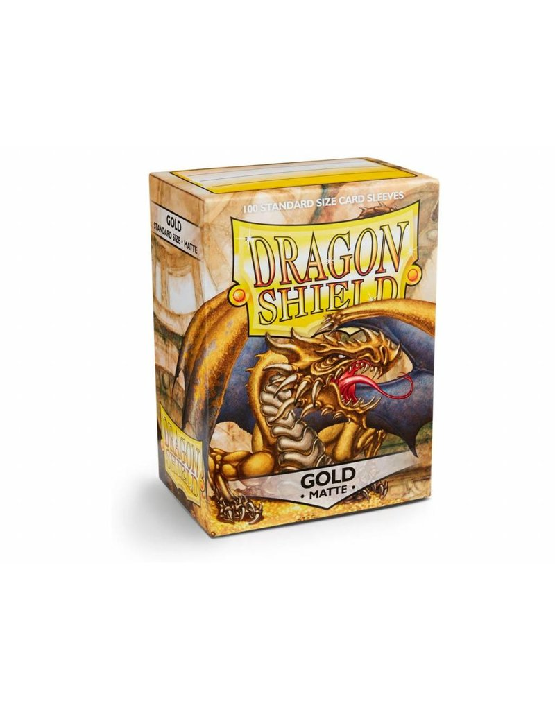 Dragon Shield Dragon Shield Standard Matte Sleeves Gold