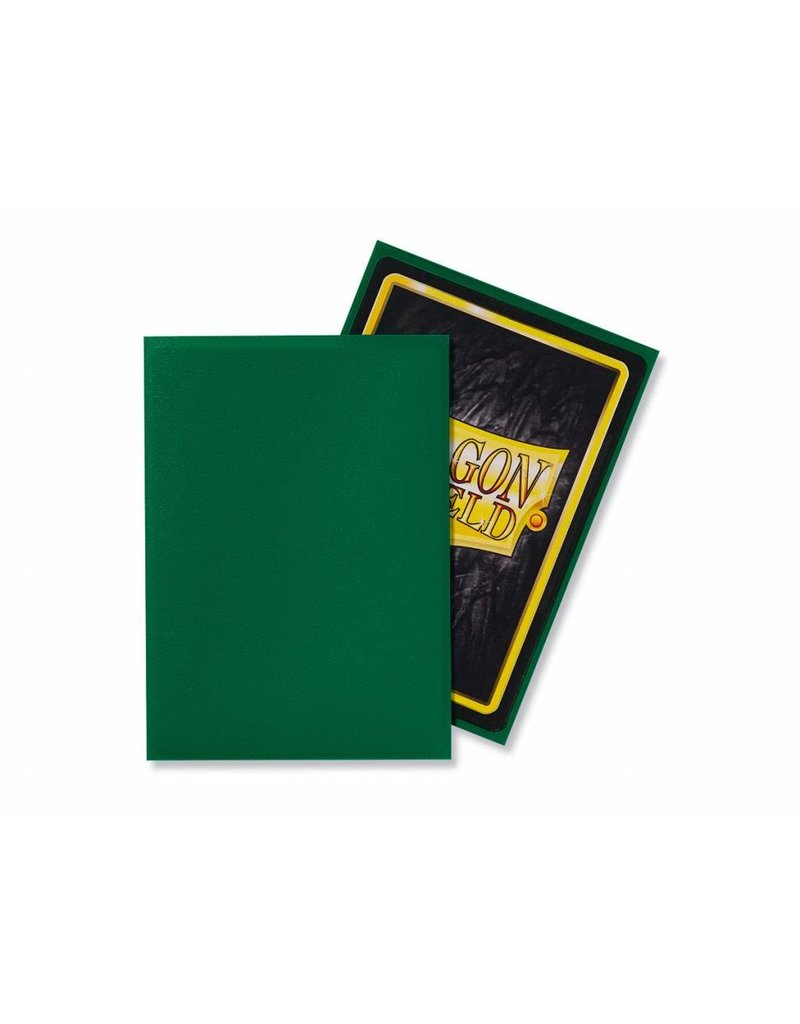 Dragon Shield Dragon Shield Standard Matte Sleeves Green