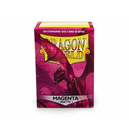Dragon Shield Dragon Shield Standard Matte Sleeves Magenta