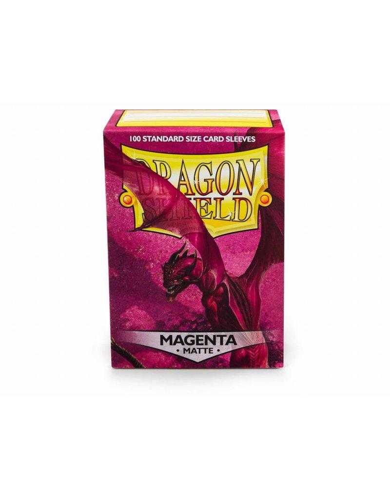 Dragon Shield Dragon Shield Standard Matte Sleeves Magenta