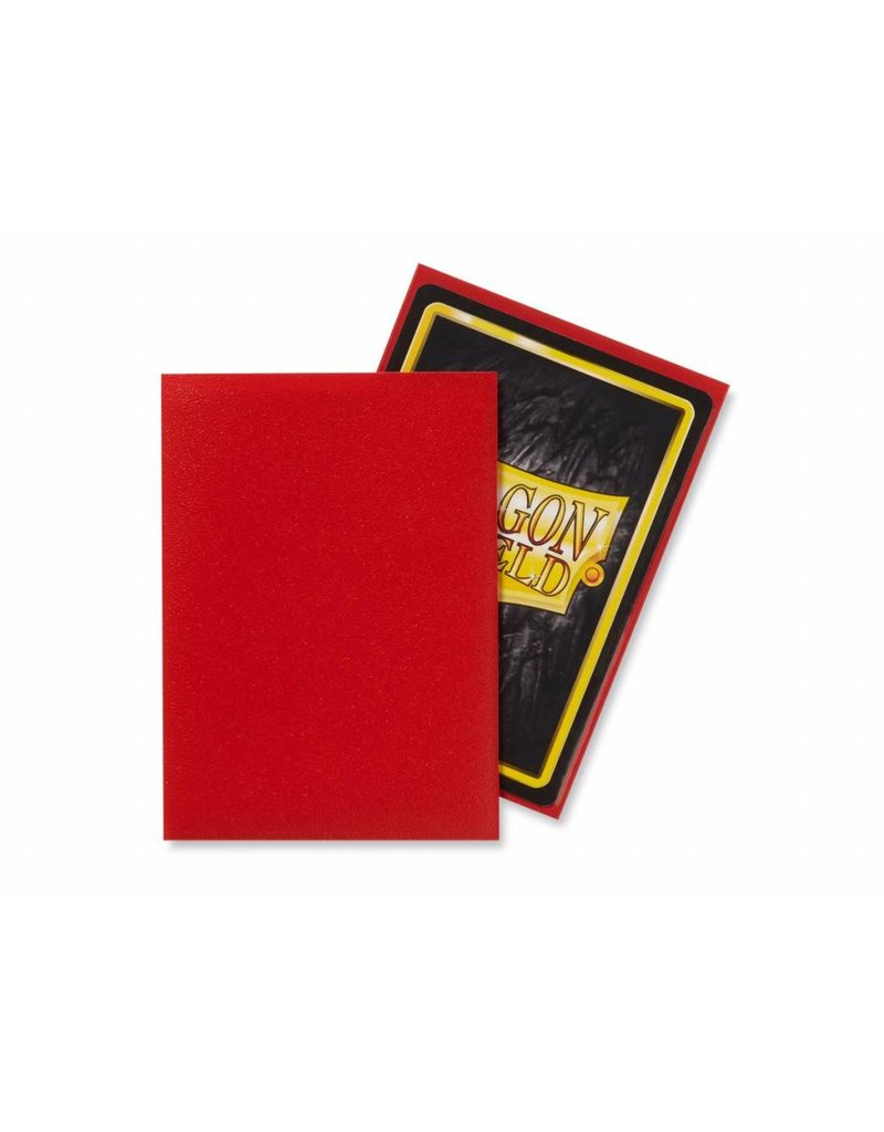 Dragon Shield Dragon Shield Standard Matte Sleeves Crimson