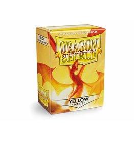 Dragon Shield Dragon Shield Standard Matte Sleeves Yellow