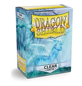 Dragon Shield Dragon Shield Standard Matte Sleeves Clear