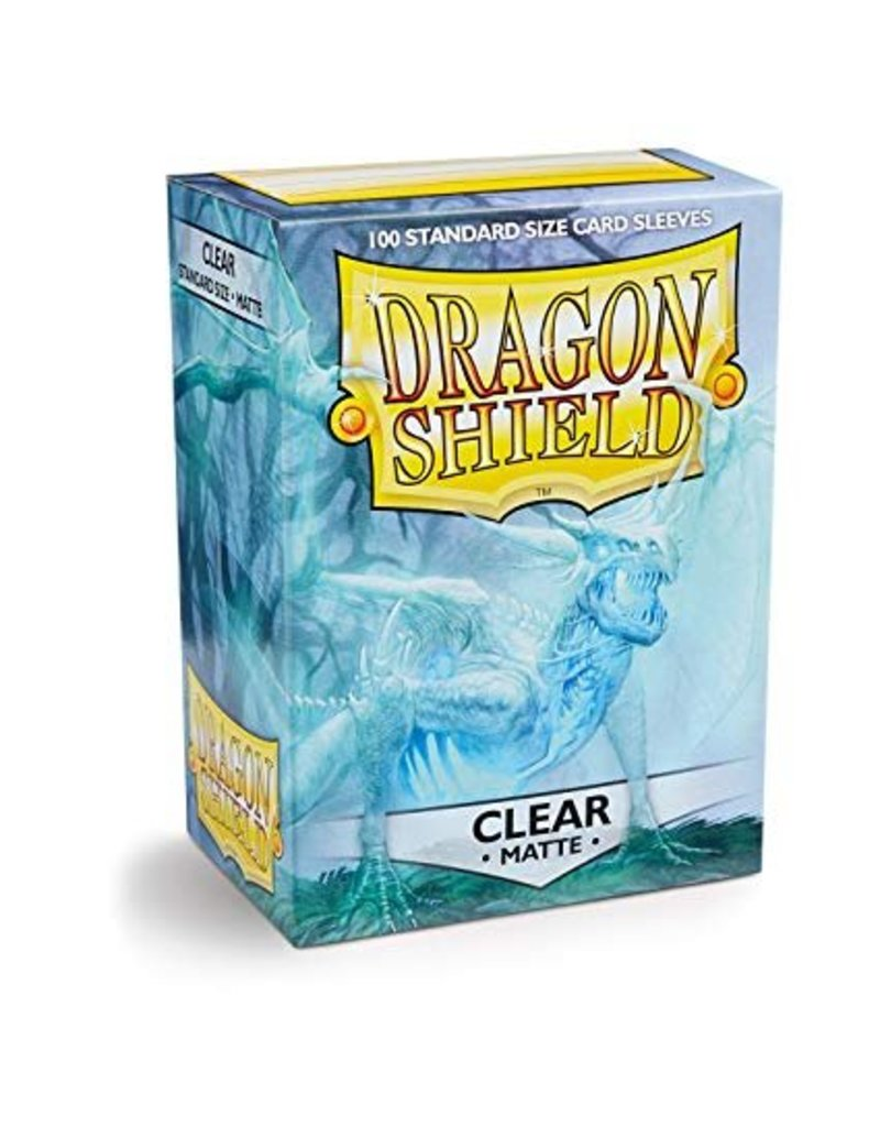 Dragon Shield Standard Sleeves Clear