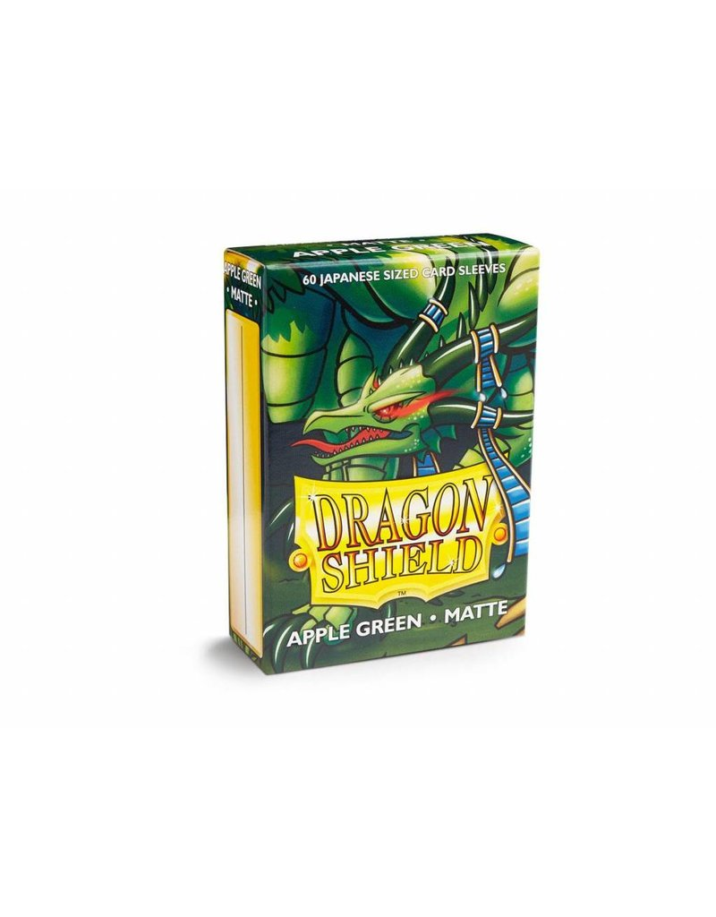 Dragon Shield Dragon Shield Small Matte Sleeves Apple Green