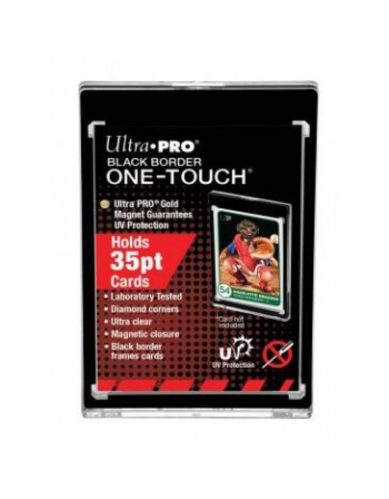 Ultra Pro One-Touch Magnetic Holder - 35pt - Black Border Ultra Pro