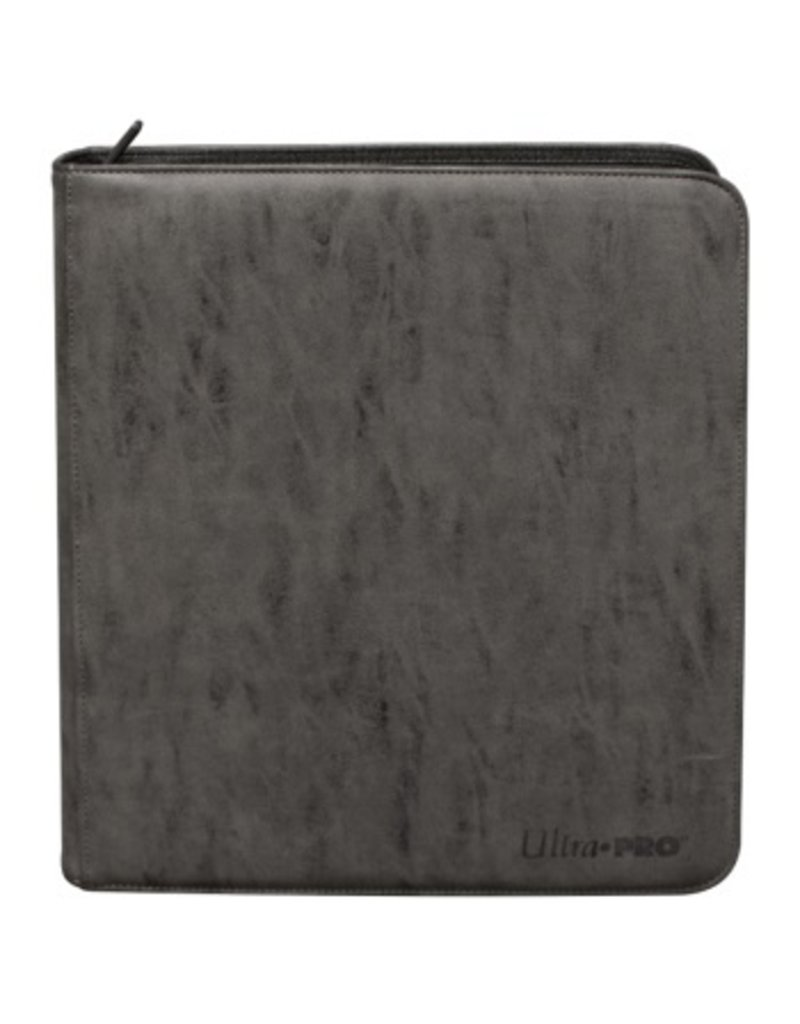 Ultra Pro Deck Builder's Playset Zippered Pro Binder Suede Collection - Jet Ultra Pro
