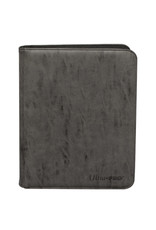 Ultra Pro Suede Collection Zippered 9-Pocket Premium Pro Binder Jet Ultra Pro