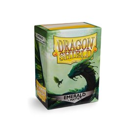 Dragon Shield Dragon Shield Standard Matte Sleeves Emerald