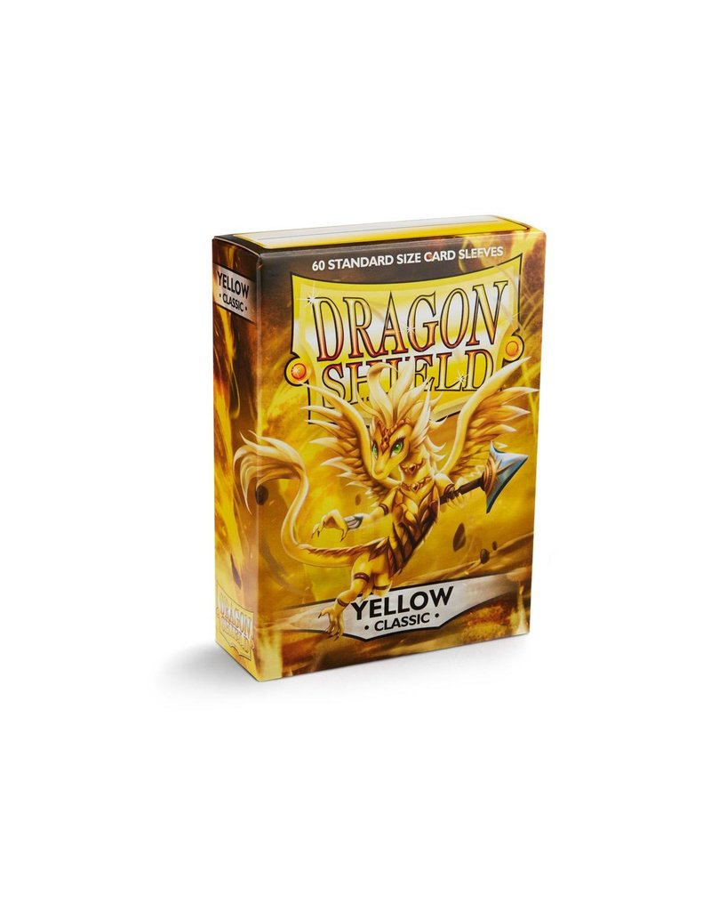 Dragon Shield Dragon Shield Standard Classic Yellow (60 Sleeves)