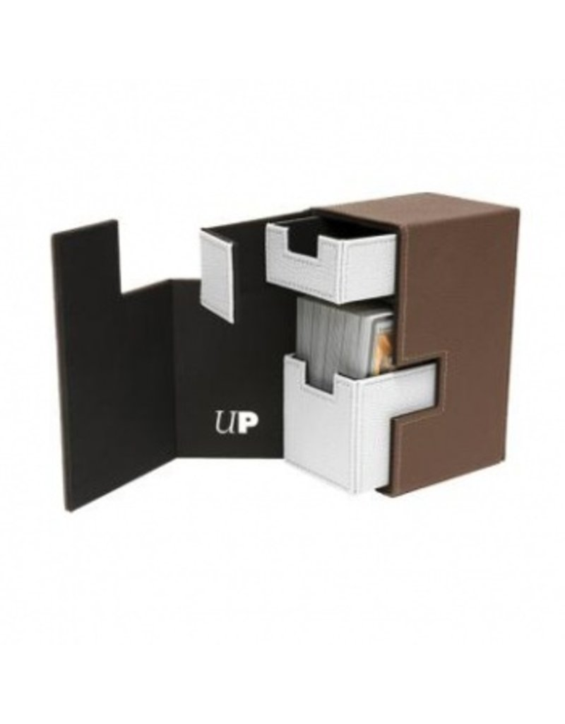 Ultra Pro Deck Box M2.1 - Brown/White Ultra Pro