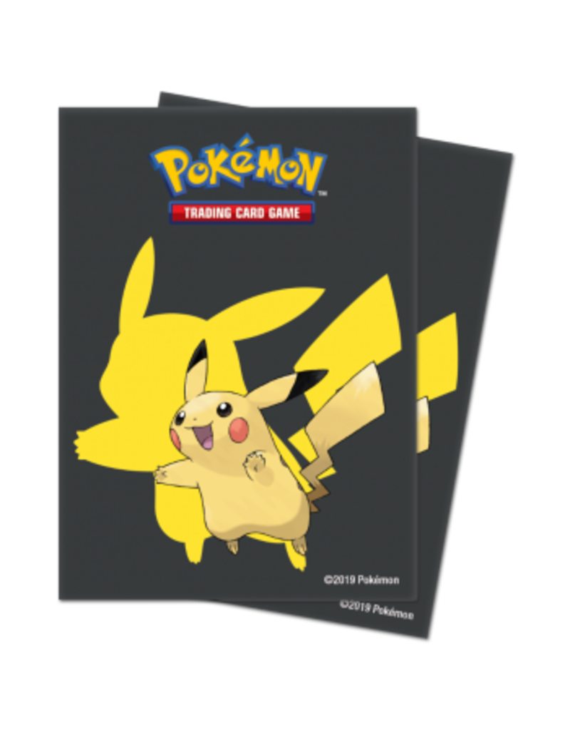 Ultra Pro Pokemon Deck Protector Sleeves - Pikachu 2019 Ultra Pro