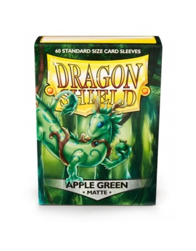 Dragon Shield Dragon Shield Standard Sleeves - Matte Apple Green (60 Sleeves)