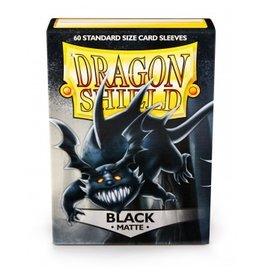 Dragon Shield Dragon Shield Standard Matte Sleeves - Black (60)
