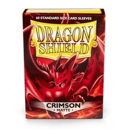 Dragon Shield Dragon Shield Standard Matte  Sleeves - Crimson (60)