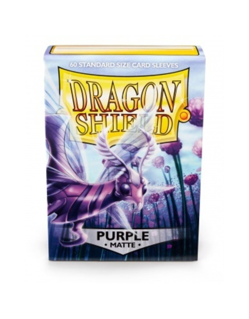 Dragon Shield Dragon Shield Standard Sleeves - Matte Purple (60 Sleeves)