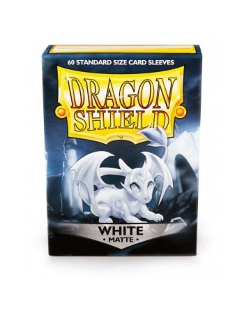 Dragon Shield Dragon Shield Standard Matte  Sleeves - White (60)