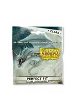 Dragon Shield Dragon Shield Standard Perfect Fit Sideloading Sleeves - Clear (100 Sleeves)