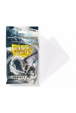Dragon Shield Dragon Shield Standard Perfect Fit Sleeves - Clear 100 Sleeves)