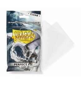 Dragon Shield Dragon Shield Standard Perfect Fit Sleeves - Clear (100 Sleeves)