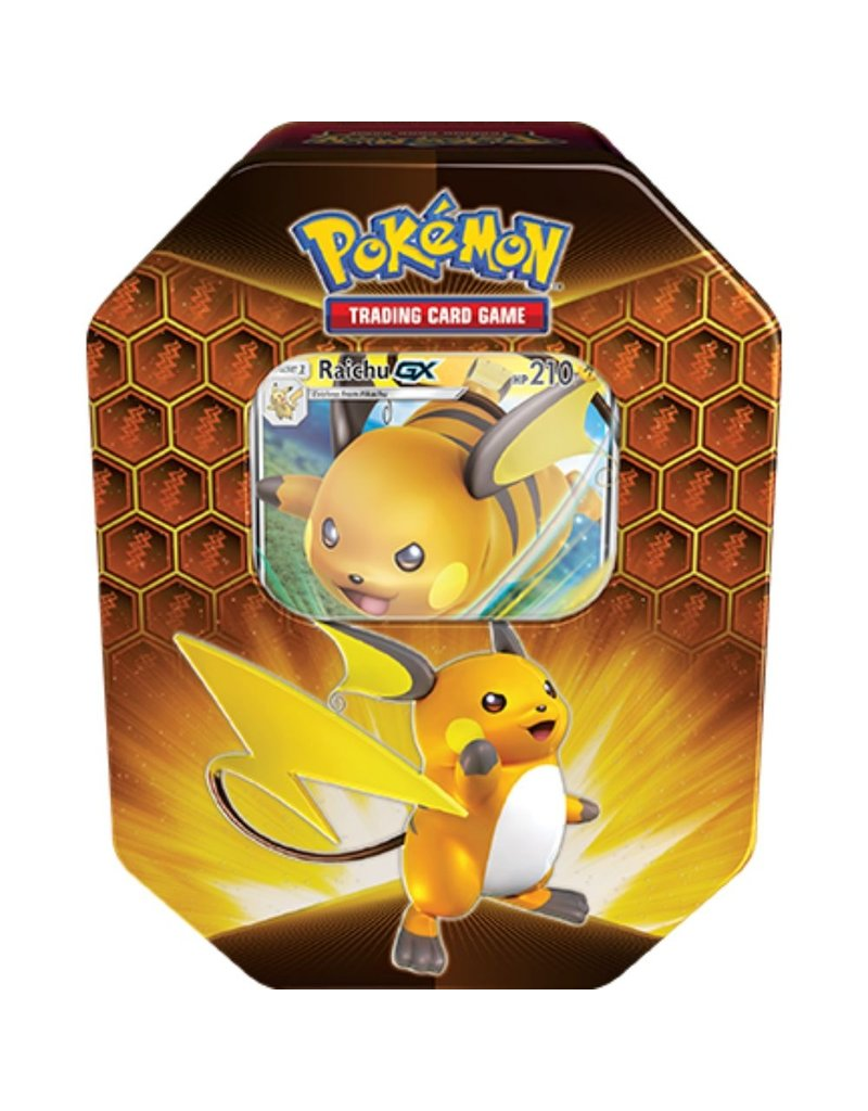 The Pokémon Company Hidden Fates Tin Raichu Pokemon (Reprint)