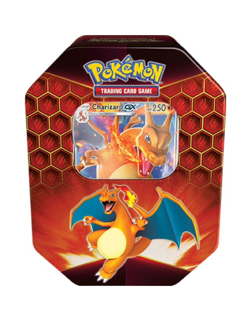 The Pokémon Company Hidden Fates Tin Charizard Pokemon (Reprint)