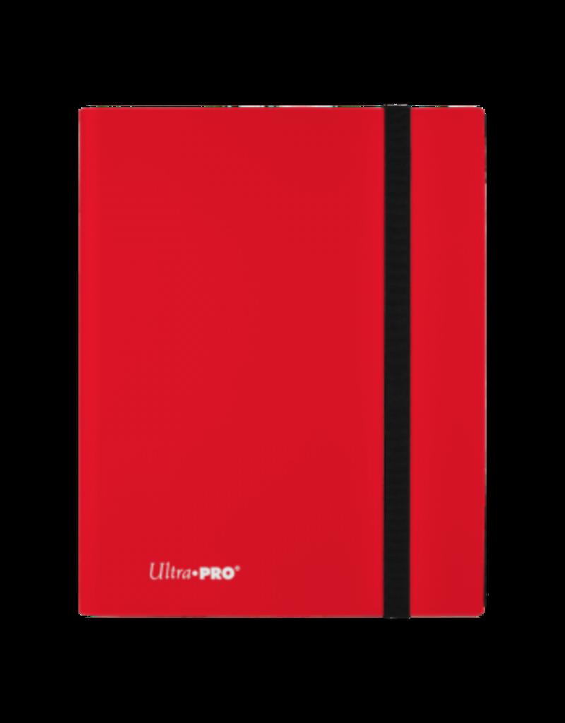 Ultra Pro 9-Pocket Pro Binder Eclipse Apple Red