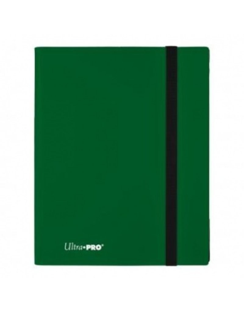 Ultra Pro 9-Pocket Pro Binder Eclipse Forest Green