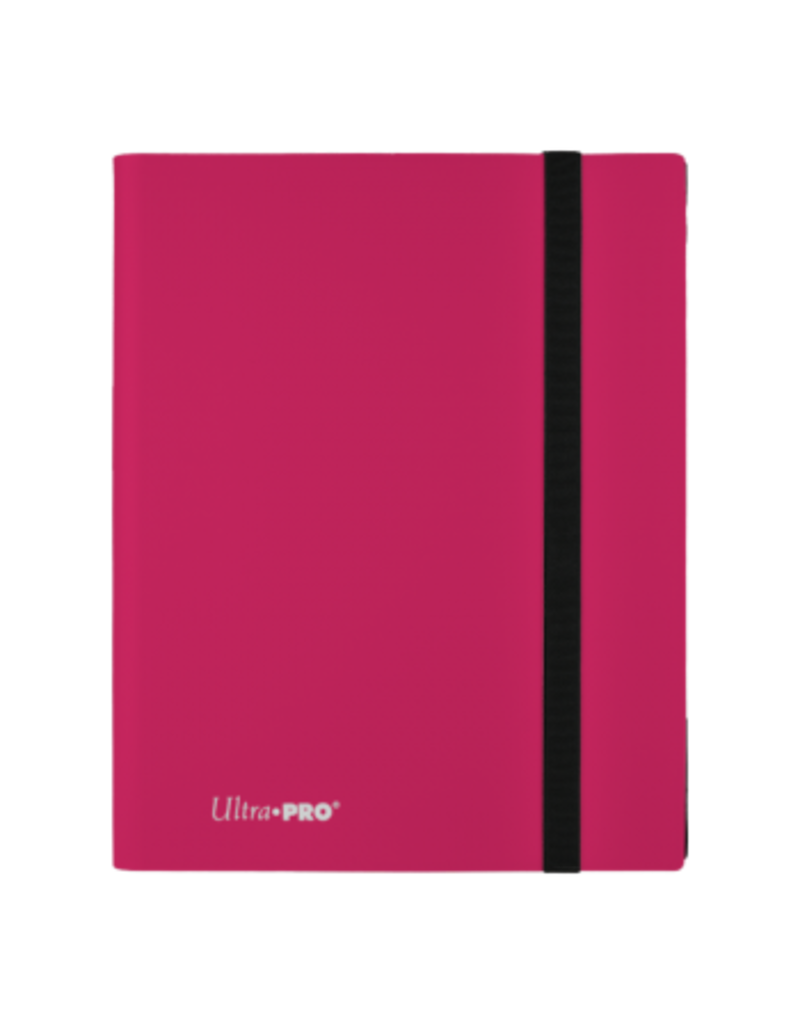 Ultra Pro 9-Pocket Pro Binder Eclipse Hot Pink