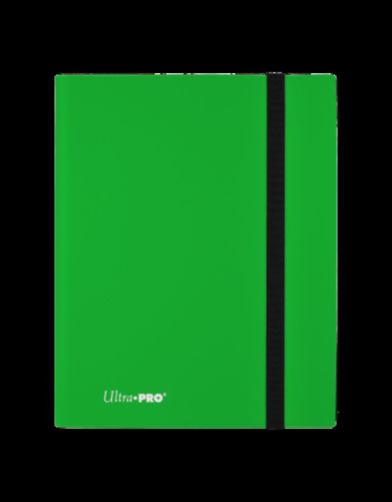 Ultra Pro 9-Pocket Pro Binder Eclipse Lime Green