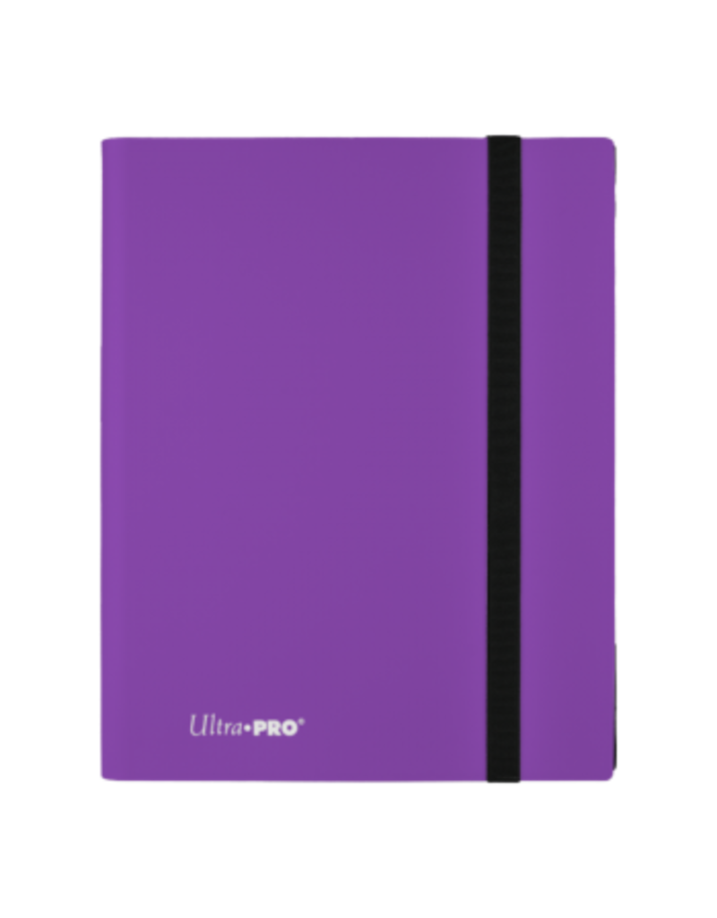 Ultra Pro 9-Pocket Pro Binder Eclipse Royal Purple