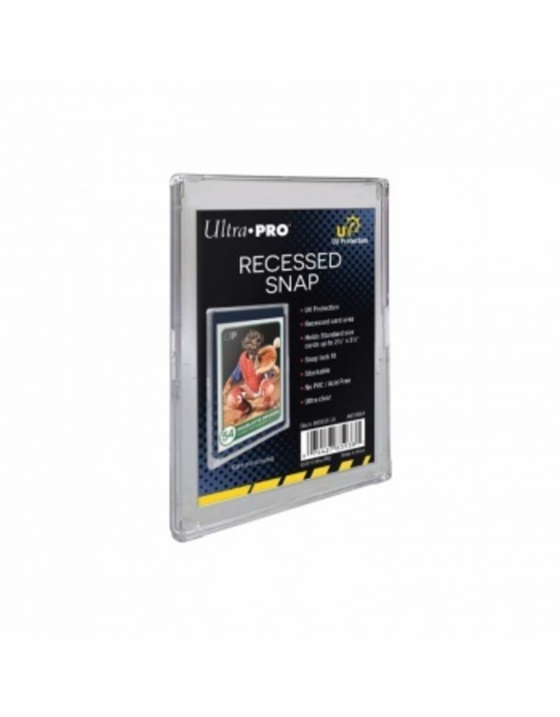 Ultra Pro UV Recessed Snap Card Holder Ultra Pro