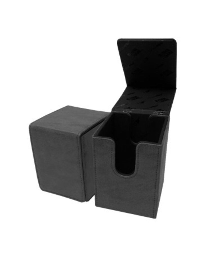 Ultra Pro Ultra Pro Suede Collection Deckbox Alcove Flip Box Jet