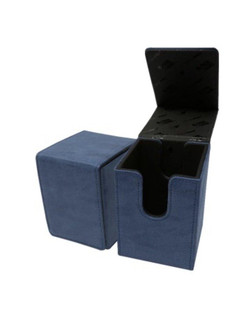 Ultra Pro Alcove Flip Box Suede Collection - Sapphire Ultra Pro