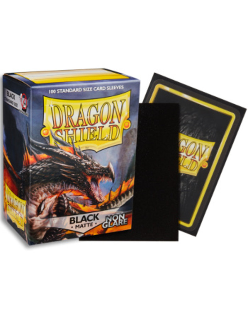 Dragon Shield Dragon Shield Standard Non Glare Sleeves -  Black (100)