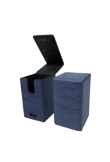 Ultra Pro Alcove Tower Deck Box Suede Collection - Sapphire Ultra Pro