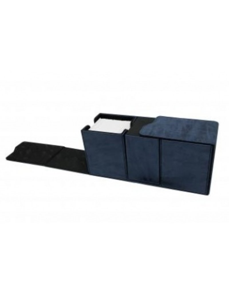 Ultra Pro Alcove Vault Deck Box Suede Collection - Sapphire Ultra Pro